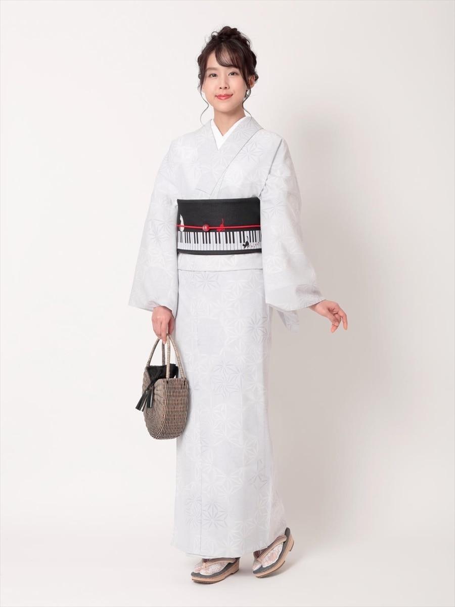 三松オリジナル浴衣「麻の葉」