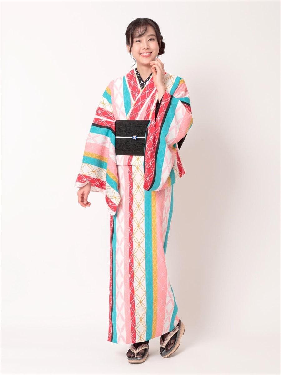 三松オリジナル浴衣「七宝」