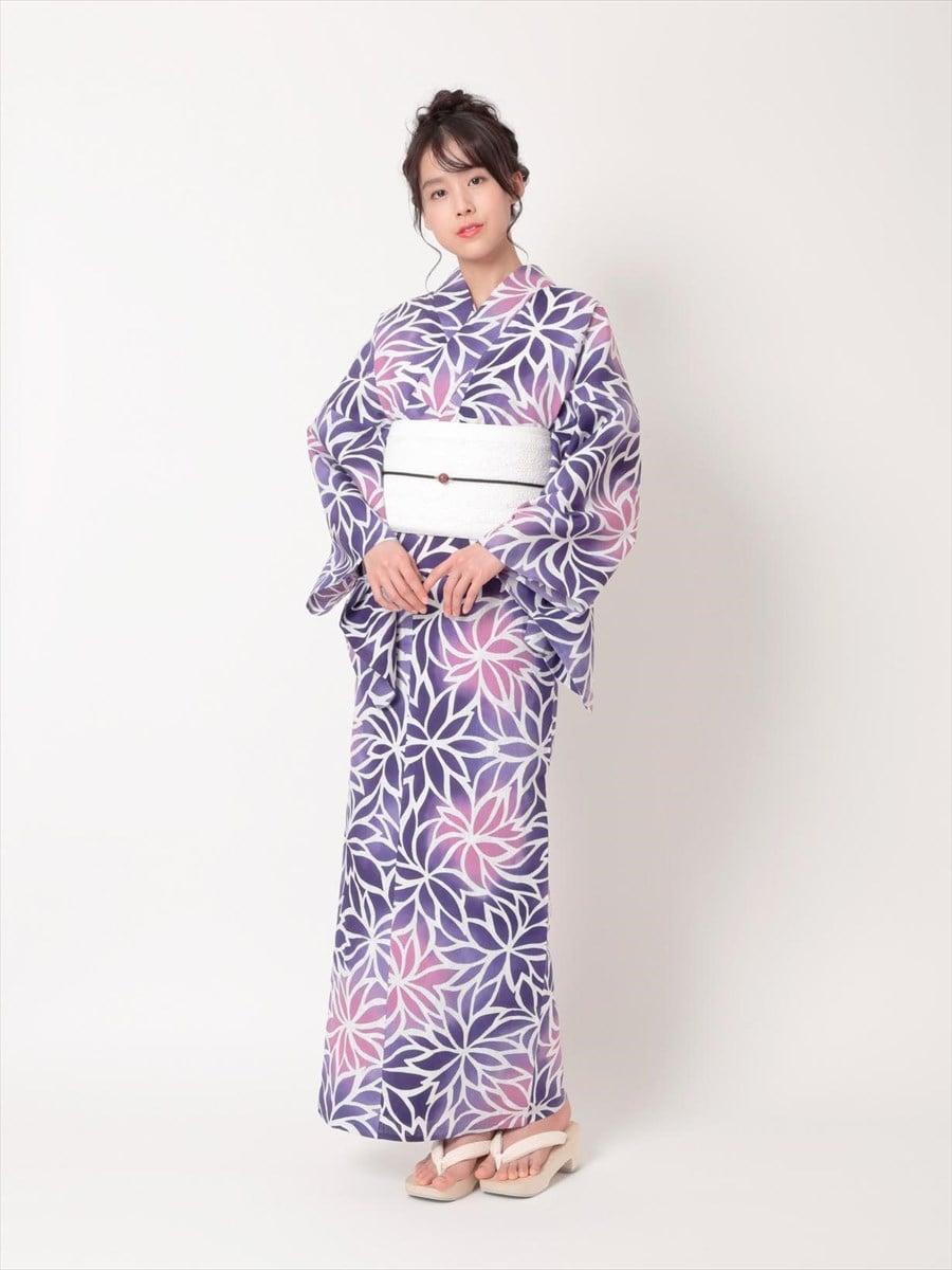 三松オリジナル浴衣「むじな菊」
