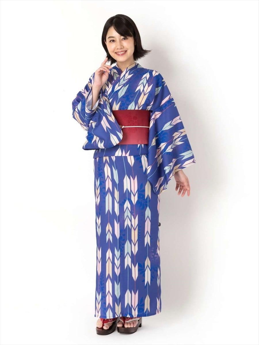 二部式浴衣【セパスト】「矢羽」