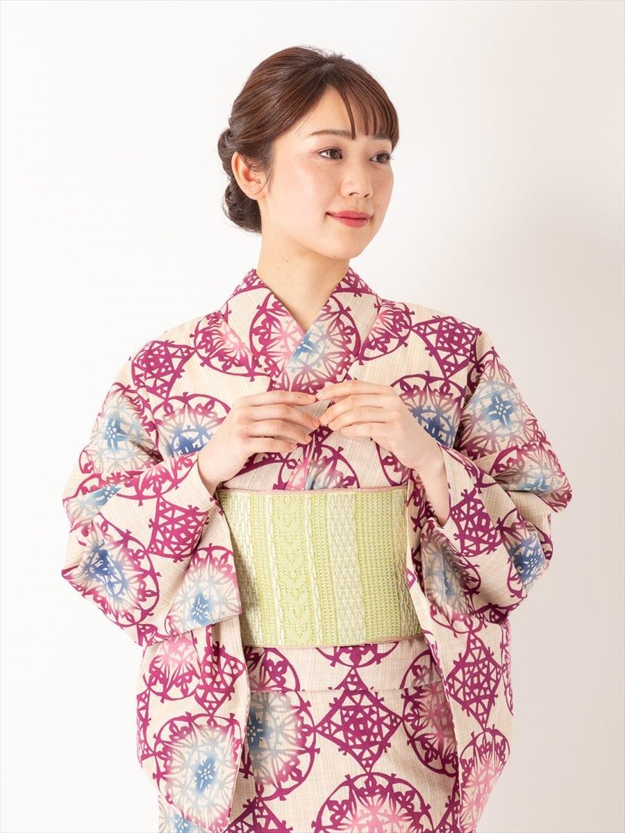 三松オリジナル浴衣「万華鏡」