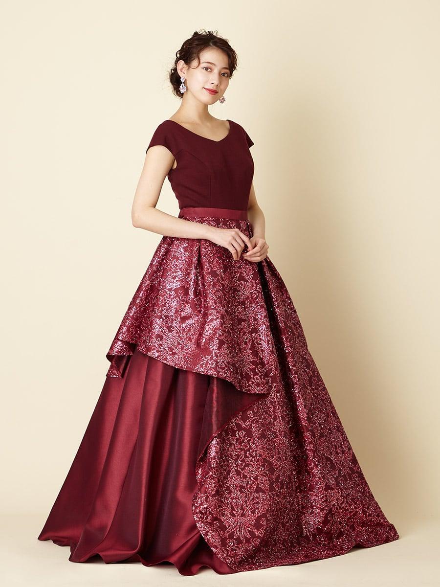ポンチオングリッタースカートドレス